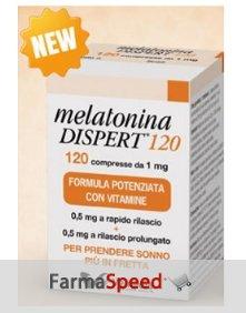 Melatonina Dispert 1mg Integratore Alimentare 120 Compresse