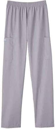 White Swan PETITE Cargo Pocket Scrub Pant; Color = Silver; Size XS Petite