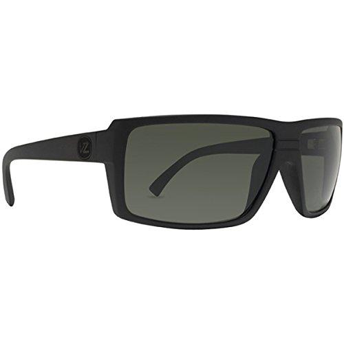 VonZipper Snark Men's Sportswear Sunglasses/Eyewear - Color: Black Satin/Grey, Size: One Size Fits All
