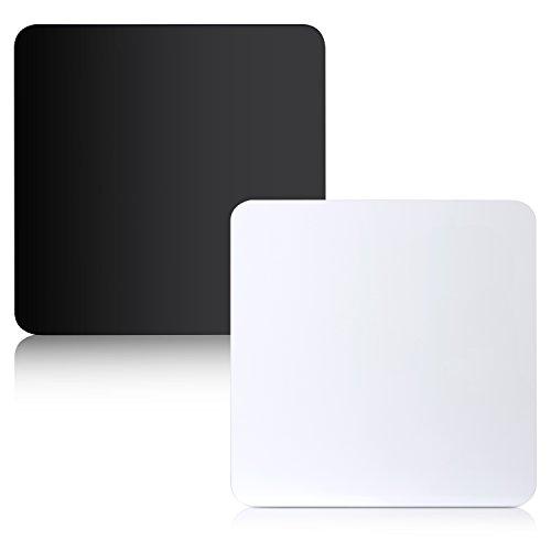 Neewer-12-x-12-30-x-30-cm-Acryl-Reflective-Display-Bretter-fr-Produkt-Tisch-Fotografie-Aufnahme-schwarz-und-wei