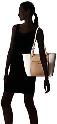 Calvin Klein Saffiano Top Zip Tote Bag