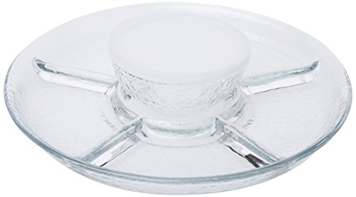 Frost Chip and Dip 3pc Set (Glass Vegetable Tray compare prices)