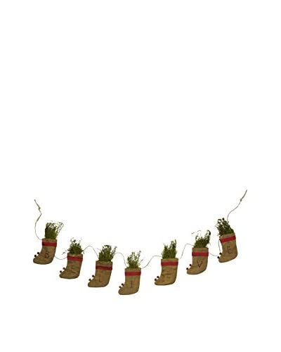 BELIEVE Stockings Garland