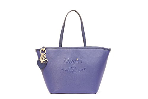 BORSA BLUGIRL LARGE SHOPPING BLU 001