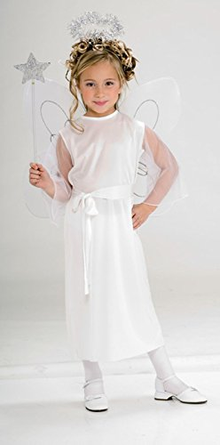 Rubies Halloween Child Angel Medium Costume Fits 5-7 Yr Olds New 881931 (Halloween Costum Ideas)