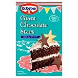 Dr Oetker Giant Milk & White Chocolate Stars 20G
