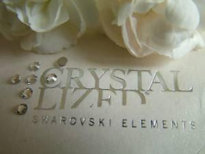 SS14-Confezione da 100 cristalli SWAROVSKI 2028-Colla fissaggio, 3,5 mm