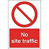 Ejs Signs No Site Traffic Sign 600mmx200mm