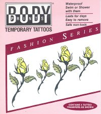 Buy Rose Fashion Series Body Prints/temporary Tattoos
