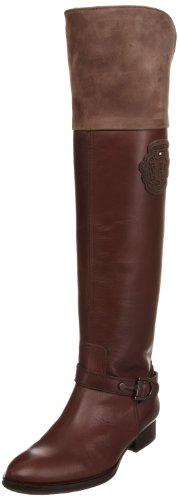 Tommy Hilfiger Women's Hampshire 5 Dark Brown Knee High Boot Fw86812966 3.5 UK