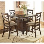 Buy Low Price Signature Design By Ashley Hayley Counter Height Dinette Set by Signature Design  (D480-CD-SET)