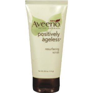 Aveeno Positively Ageless Resurfacing Scrub, 145 ml