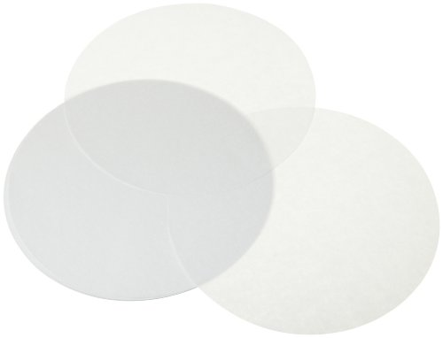 Kitchen Supply Parchment Paper Circles, 10-Inch, Set of 25