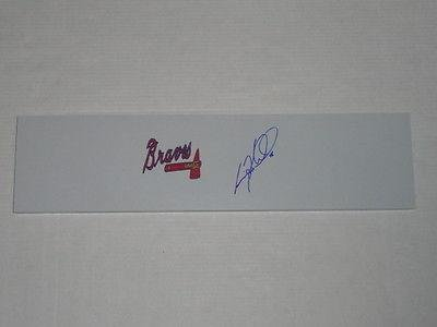Craig Kimbrel Signed Pitching Rubber Atlanta Braves Autographed Mound Jsa Coa - MLB Autographed Miscellaneous Items
