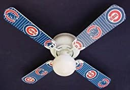 Ceiling Fan Designers Ceiling Fan, Mlb Chicago Cubs Baseball, 42\
