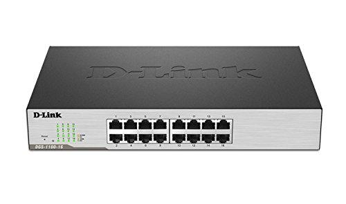 D-Link EasySmart Switch DGS-1100-16 Commutateur Géré 16 x 10/100/1000 Ordinateur de bureau