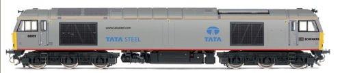Hornby R3141 DB Schenker Tata Steel Co-Co Diesel Electric Class 60 '60099'