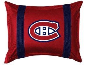 Taie d'oreiller des Canadiens de Montréal