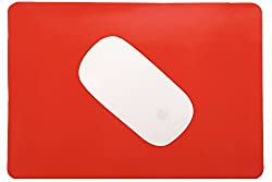 Saco Immortal Silicone Mouse Pad - Red