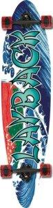 "Layback Banzi Complete Longboard Skateboard - 8.12"" x 34"""