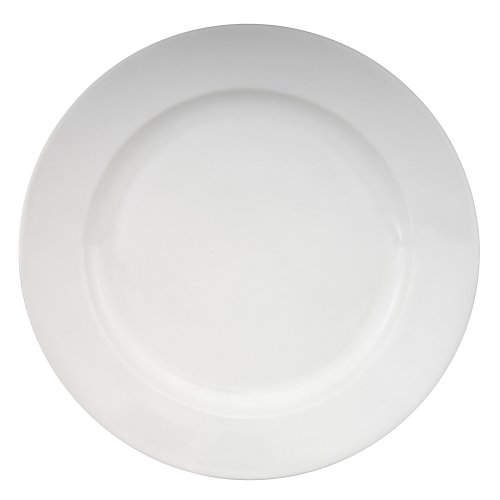 Buy Zak Designs Moxie White Dinner Plate, Set of 4