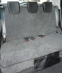 Rear Car Seat Covers (729) Protect your car seats from Muddy Pets, Dogs, Dirt & Kids. NEW