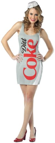 Rasta Imposta Women's Coca-Cola - Diet Coke Tank Dress Costume