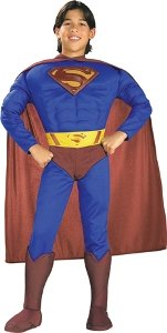 Superman Muscle Chest Child Medium Costume