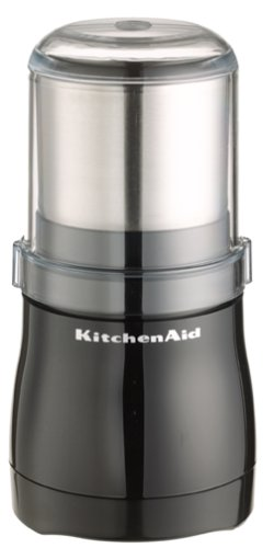 KitchenAid BCG100OB Blade Coffee Grinder, Onyx Black