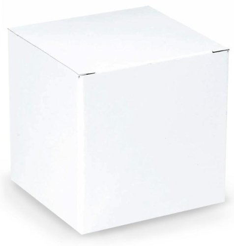 "White Gift Box (4"" x 4"") Party Accessory"