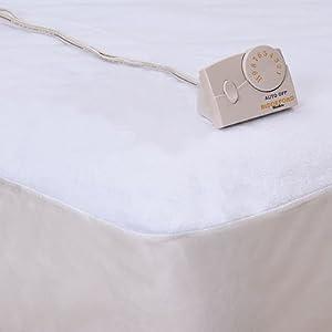 Amazon ELECTRIC HEATED BED MATTRESS PAD BIDDEFORD