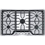 """Frigidaire Gallery 36"""" Stainless Steel Gas Cooktop"""
