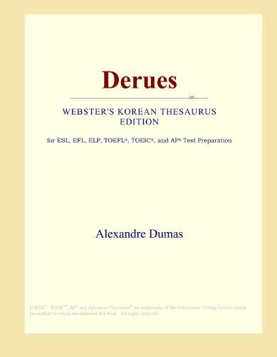 Derues (Webster's Korean Thesaurus Edition)