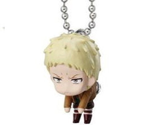 Attack on Titan Tsumande Tsunagete Mascot Part 2~Figure Swing Keychain~Reiner Braun