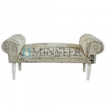 Minster Giftware - Asiento de Ventana con Forro de Diseño de Pergamino con Texto