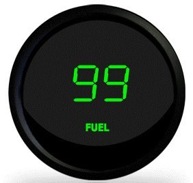 Intellitronix Digital Fuel Level Gauge M9016 in Green! (Digital Fuel Level Gauge compare prices)