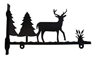 Deer and Pines Sign Bracket