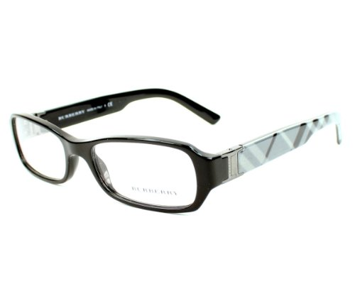 Burberry Eyeglasses frame BE 2082 3001 Acetate Black ...