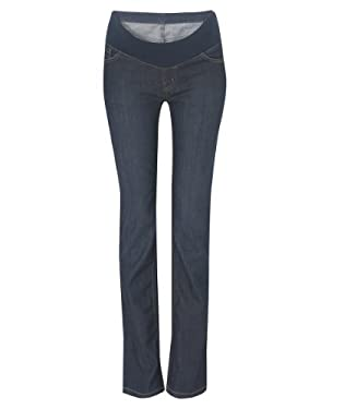 Maternity Under bump Bootcut Mid Wash Jean - Long Length