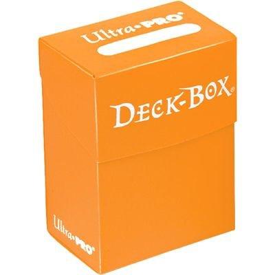 Ultra Pro - 330457 - Jeu De Cartes - Deckbox - Solid Orange - C30