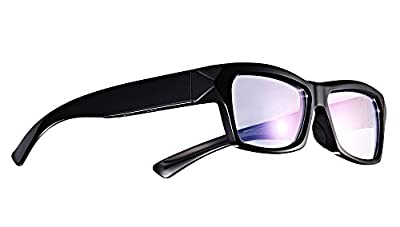 Forestfish Video Camera Sunglasses HD 720P Video Recorder Glasses with 8GB SD Card Clear Plano Sunglass