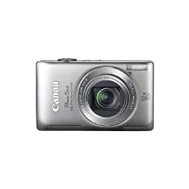 Canon PowerShot ELPH 510 HS 12.1 MP CMOS Digital Camera (Silver)