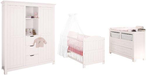 Pinolino-101617BG-Nina-Kinderzimmer-breit-gro-3-teilig-mit-Kinderbett-breiter-Kommode-und-groem-Kleiderschrank-ohne-Textilien