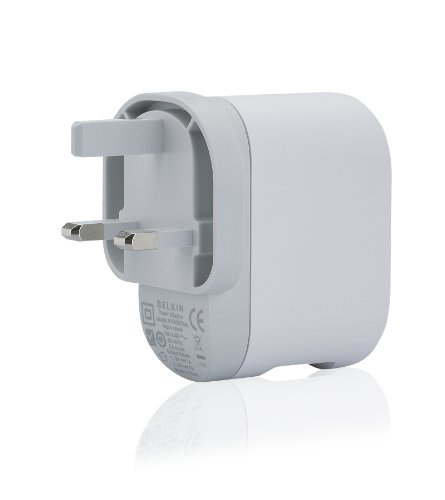 Belkin Dual USB 5V, 2A Wall Adapter - White