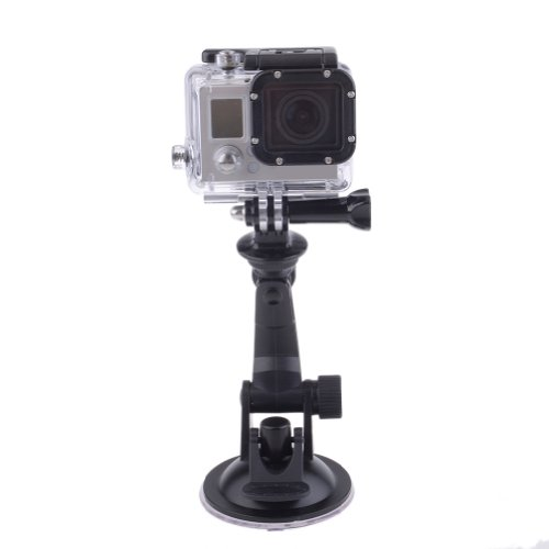"Neewer® Suction Cup Windshield & Dash Car Mount With 1/4"" Tripod Adapter For Gopro Hd Hero1 Hero2 Hero3 Hero3+"