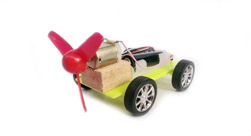 Diy Propeller Powered Race Car-Propeller Car (Aa) - (Premium Quality)