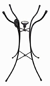 Continental Art Center CAC2610450 Bird Bath Stand, 25 by 18-Inch, Black