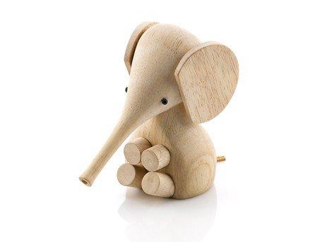 Lucie Kaas Elefant, rubber wood - Höhe 11 cm