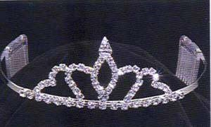 Crown your Little Princess with this beautiful Rhinestone Tiara