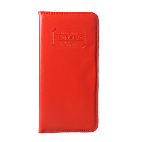 OFTEN® Women Long Passport Cover Case Wallet Pocket Holder for Journey (Passport And Boarding Pass Holder compare prices)